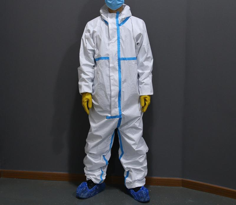 Disposable coveralls bulk